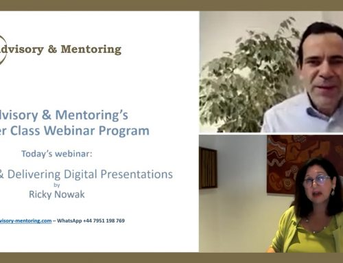 Webinar: How to deliver Powerful Virtual Presentations