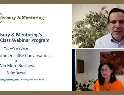 Webinar: Commercialising Conversations